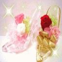ガラスの靴★ホワイトデーや誕生日、送別の贈り物に♪